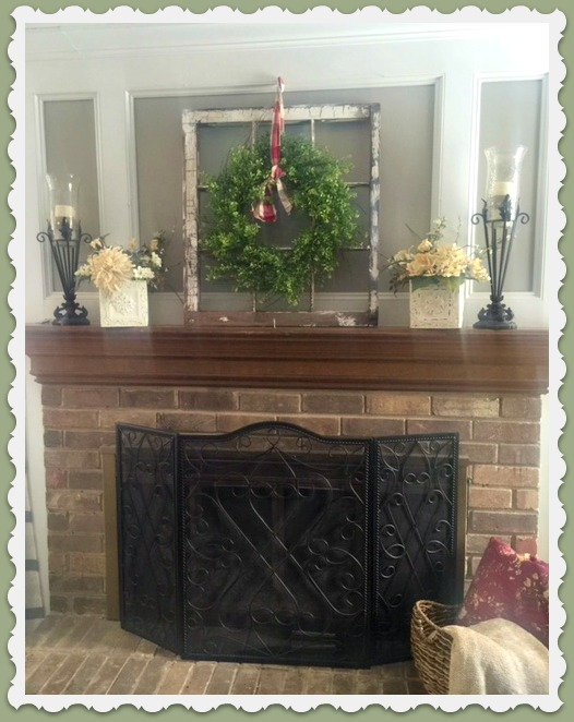 Fireplace Mantle 2